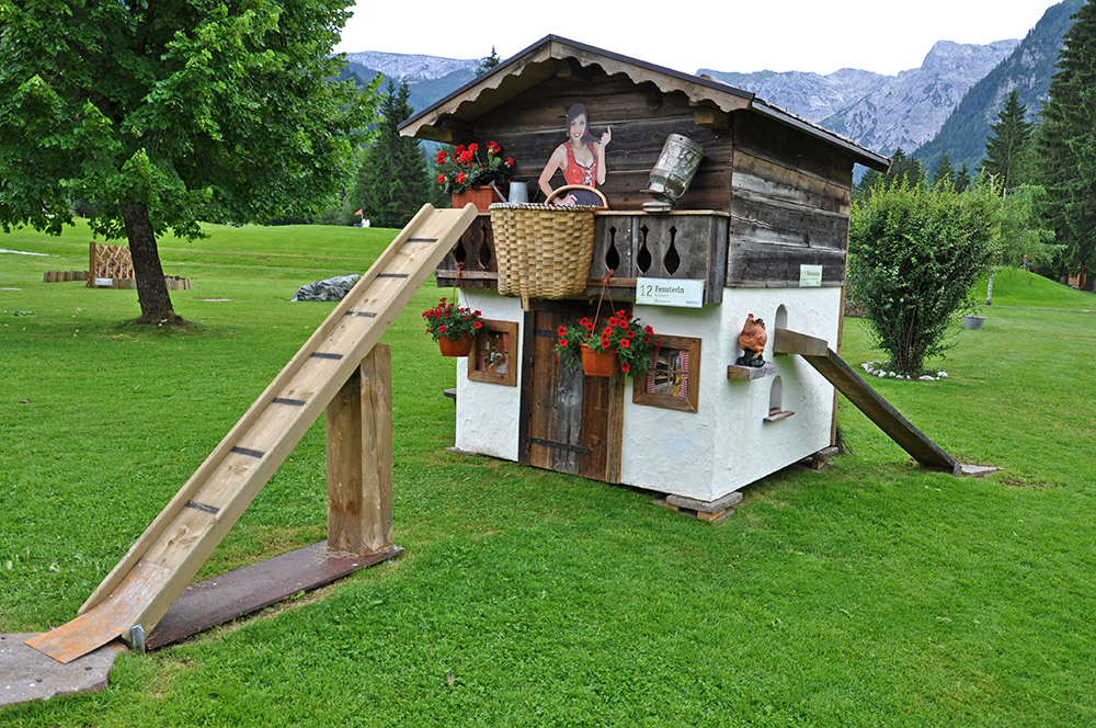 Bergbauerngolf in Pertisau - Achensee